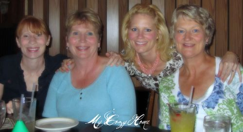 Kelly, Claire, Allison, Mom