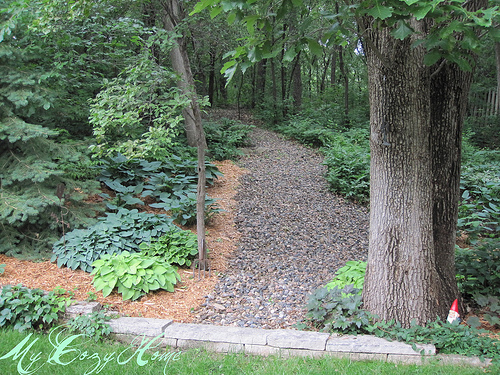 Back yard path 2